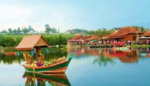 tempat wisata di lembang - Floating Market Lembang
